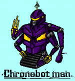 Chronobot Man - Chrono Triggers - Dataglitch